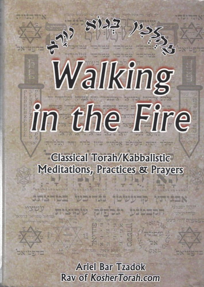 Walking in the Fire: Classical Torah/ Kabbalistic Meditations, Practices & Prayers. Ariel Bar Tzadok.