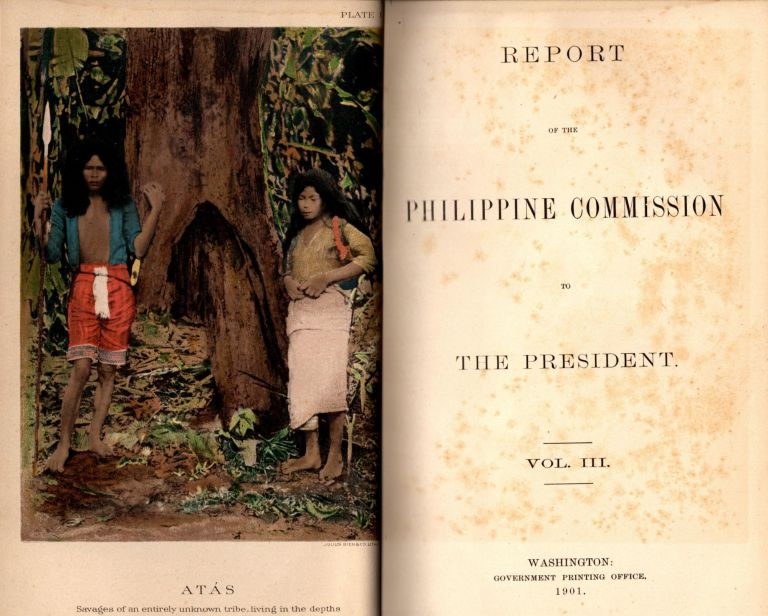 Report of the Philippine Commission to The President Vol. III.