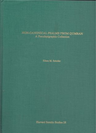 Non-Canonical Psalms from Qumran: A Pseudepigraphic Collection