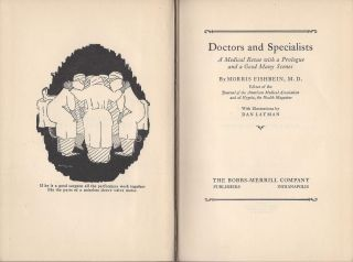Doctors and Specialists.