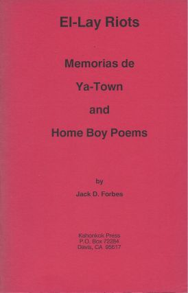 El-Lay Riots: Memoria de Ya-Town and Home Boy Poems