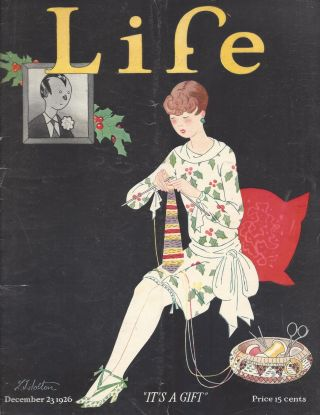 Life. December 23, 1926, Vol. 88, 2303. R. E. Sherwood