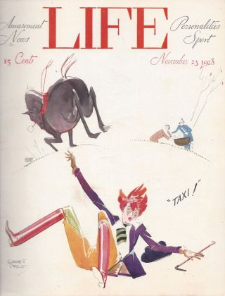 Life. November 23, 1928, Vol. 92, 2403. Robert Emmett Sherwood