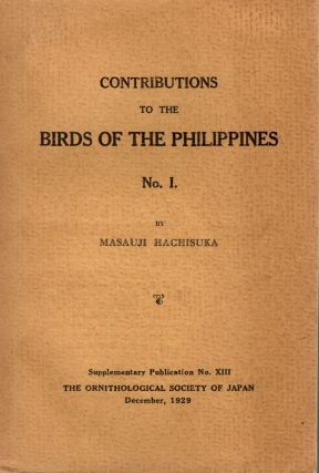 Contributions to the Birds of the Philippines. No. I